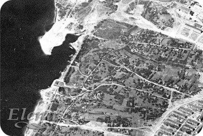 Район будущих ДС «Юность», «Амстора», Вознесеновского парка, каскада фонтанов «Радуга», 60-е года