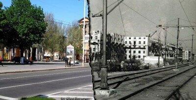 Раньше и сейчас: район площади Маяковского