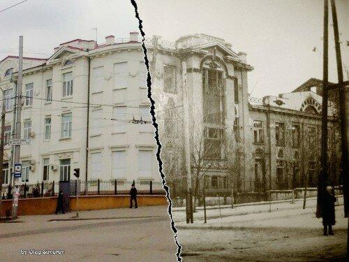 В прошлом бывшая Земская больница в Александровске, а сейчас центральная детская больница.
