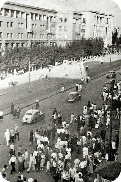 Соцгород, 50-е годы