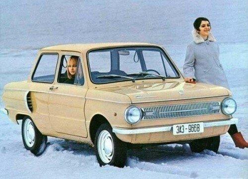 СССР: реклама Запорожца, 70-е годы