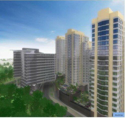 Интерактивная модель многофункционального комплекса «Пушкин-Сити»