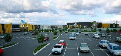 """Общая площадь застройки - 70 тысяч квадратных метров. На сайте сказано, что в торгово-развлекательном центре """"Fabrika-2"""" планируется открыть 150 магазинов."""