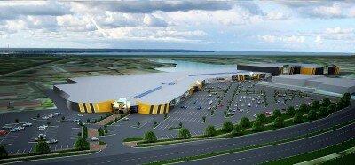 """В Запорожье к концу 2016 года может появиться некий торгово-развлекательный центр """"Fabrika-2""""."""