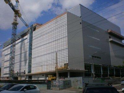 Обшивка фасада здания
