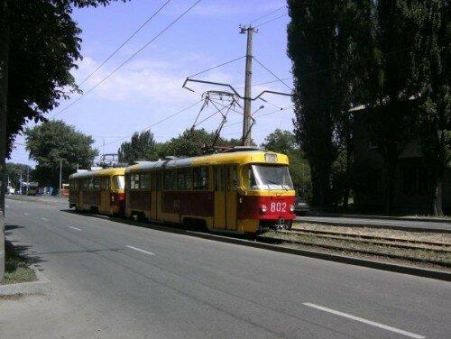 Трамвай № 802 (16 маршрут)