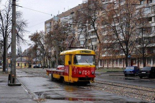 Трамвай: ГС-1