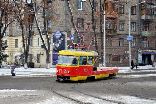 Трамвай: ГС-25