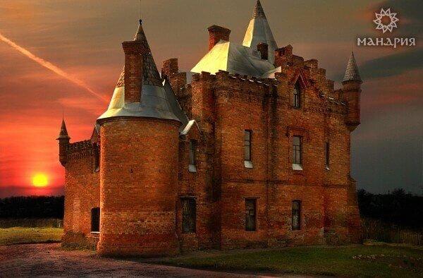 Вечерний замок Попова