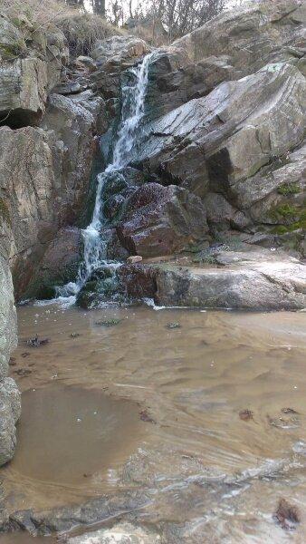 Водопад на острове Хортица