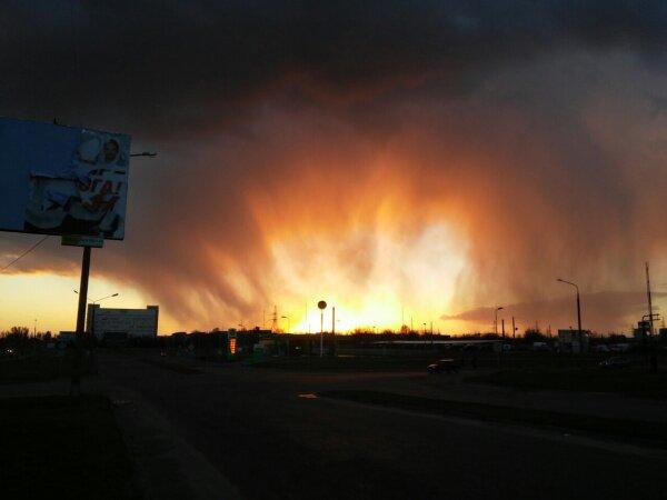 Ядерный взрыв в Запорожье