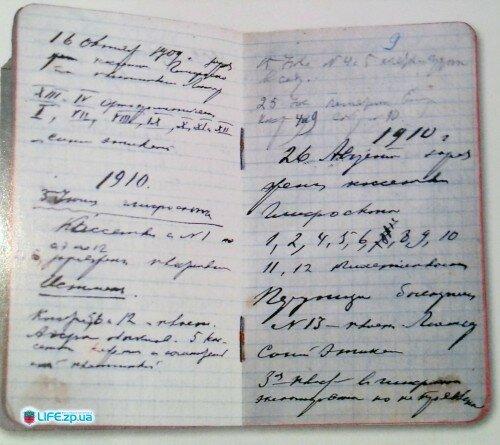 Дневник Якова Новицкого
