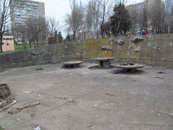 Парк Трудовой славы: фонтан