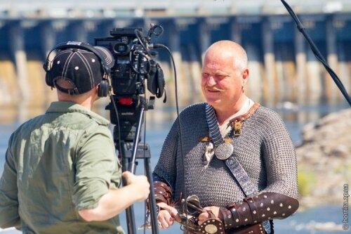 Фотоотчет как BBC снимали фильм о Хортице