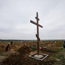 Крест бойцам, погибшим под Иловайском (АТО)