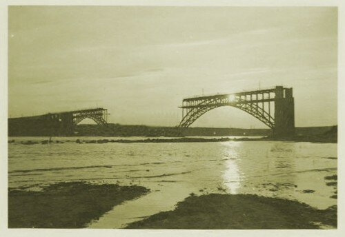 Мост Стрелецкого, 1940-е годы