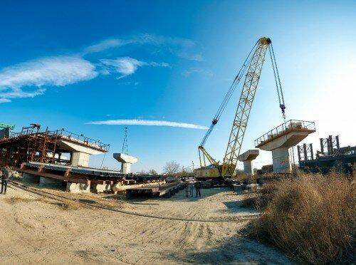 Недостроенные мосты в Запорожье, 2015