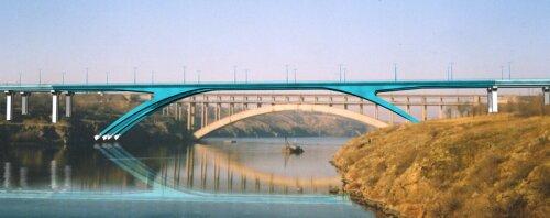 Новые запорожские мосты наконец-то построили!