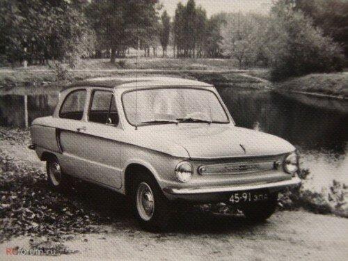 В начале 60-х годов опытный образец ЗАЗ-966 был продемонстрирован на ВДНХ.