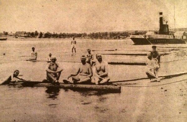 И в старину запорожцы любили «пляжиться»
