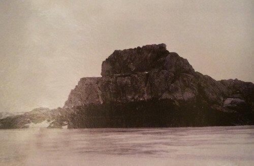 Скала Столбы или Кресло Екатерины. 13 февраля 1905 года. Фото из коллекции Я. Новицкого