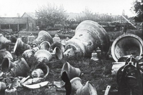 Снятые с церквей колокола, 1930 год (Запорожье)