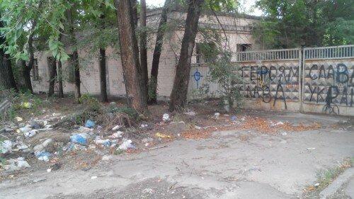 Страшные и грязные места Запорожья