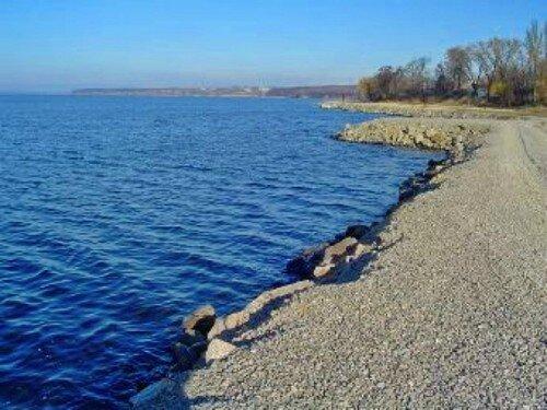 Укрепление береговой линии Днепра (2001 год)
