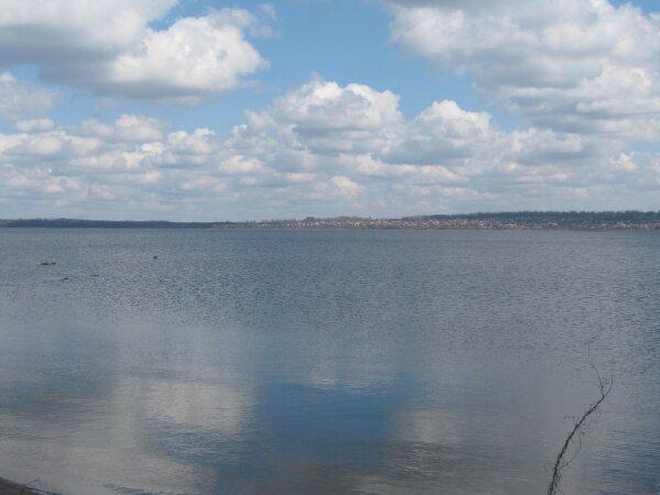 Вид на Кичкас с правого берега