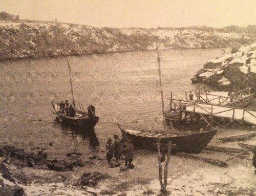 В днепровских бухтах - «тиховодах» часто останавливались казацкие суда