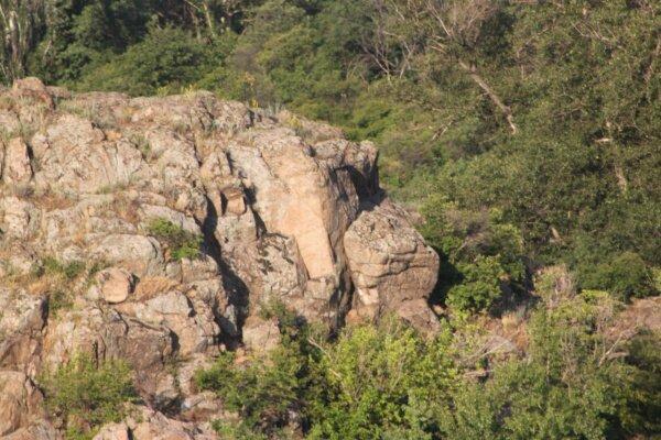 Скалы острова Хортица