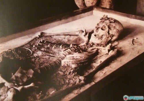 Захоронение (скелет), обнаруженное на Хортице