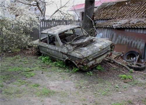 Запорожец ЗАЗ-968 в Припяти (Чернобыль)
