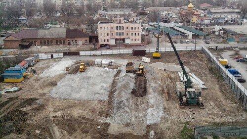 Строится новый жилой комплекс «Набережный Квартал»