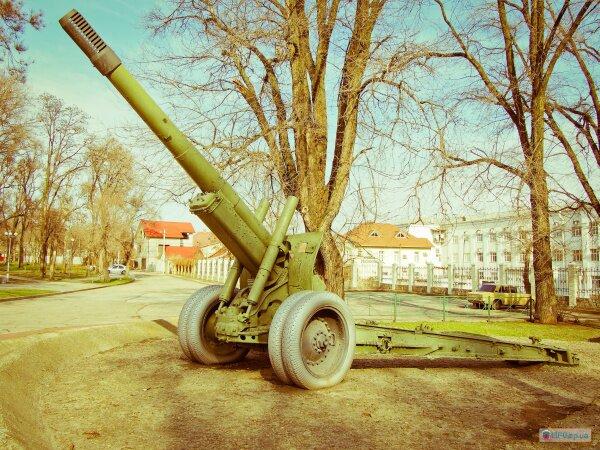 152 мм гаубица-пушка МЛ-20 времен Великой Отечественной войны