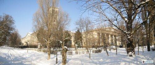 Гидроколледж (ЗГЕК ЗГИА) зимой