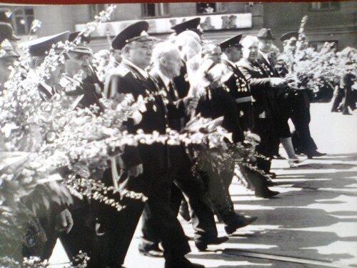 Парад Победы с участием ветеранов ВОВ