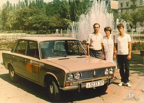 Площадь Маяковского в 80-е годы (1989 год)