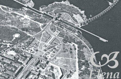 Площадь Ленина и шлюз (старый).