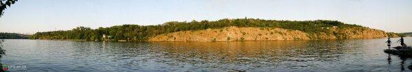 Скала Копычеватая (остров Хортица)