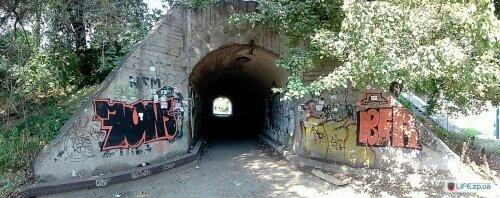 Пешеходный туннель по улице Алюминиевой
