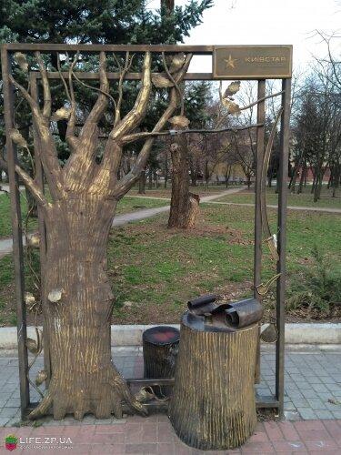 Легендарный «Запорожский дуб»