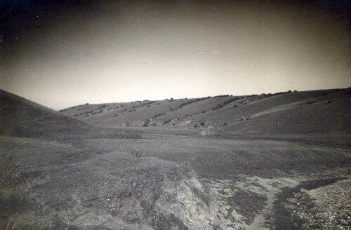 Левый склон балки Канцеровки, 1929 год