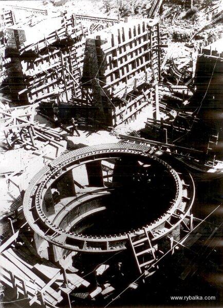 Будущее место турбин ДнепроГЭС