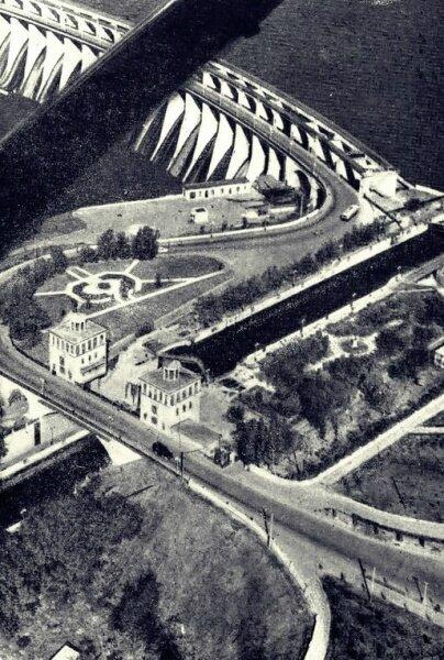 До строительства второго шлюза ДнепроГЭС (60-е годы)