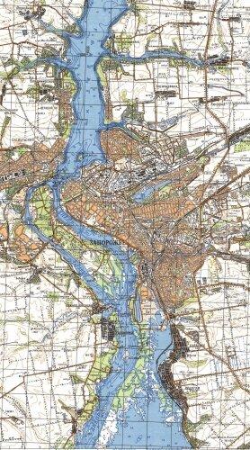 Карта глубин Днепра