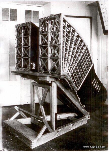 Макет всасывающей турбины ДнепроГЭС