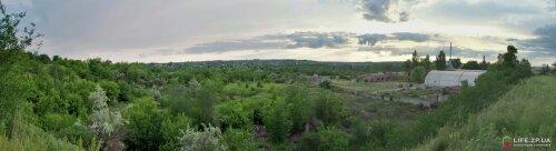 Панорама Верхней Хортицы
