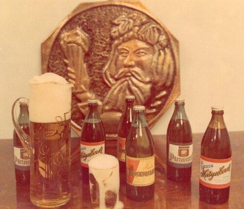 Первая продукция пивобезалкогольного комбината