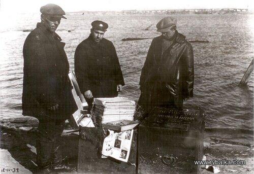 Подготовка взрывчатого вещества (строительство ДнепроГЭС)